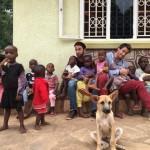 David y Carlos en Babies Uganda
